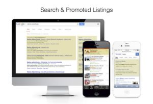 search ads and promoted listings